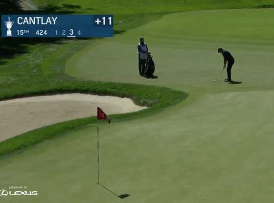 Patrick Cantlay Should Be Able To Press Charges Against Winged Foot After This Shot