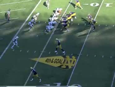 Brian Kelly Was Sick Of Being The Nice Guy, So He Went For It On 4th Down Up 45 To Secure The Over