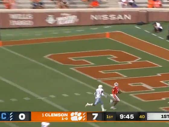 God Bless You If You Had Clemson -49.5