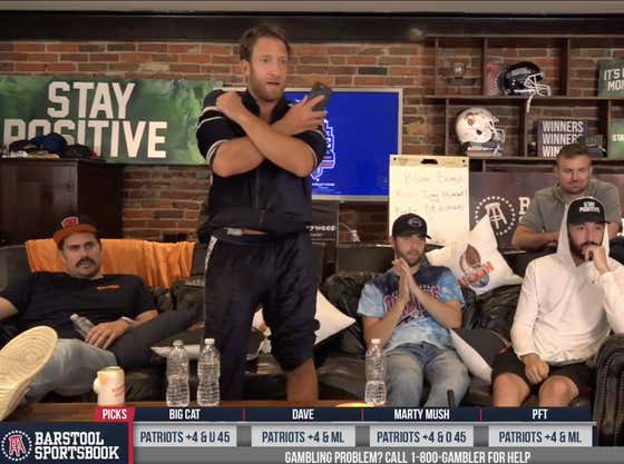 Full Replay: Patriots vs. Seahawks - Sunday Night Football at the Barstool Sportsbook House