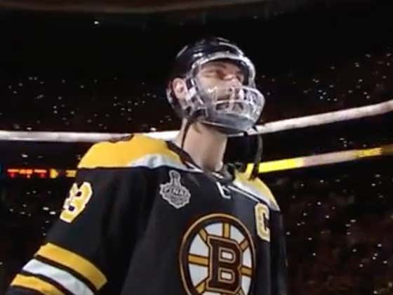 We're Getting A Zdeno Chara Documentary From The Clouds!