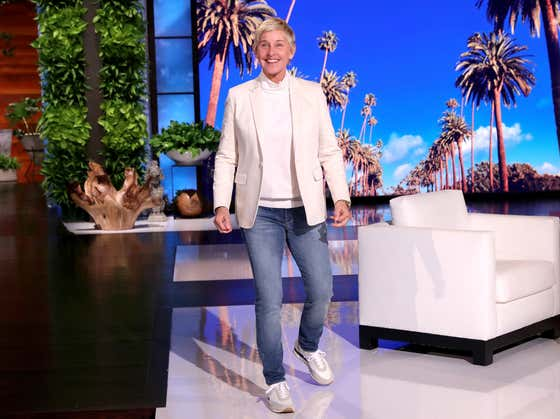 Ellen Is Back With an Uncomfortable Apology Filled With Jokes and Fake Crowd Laughter
