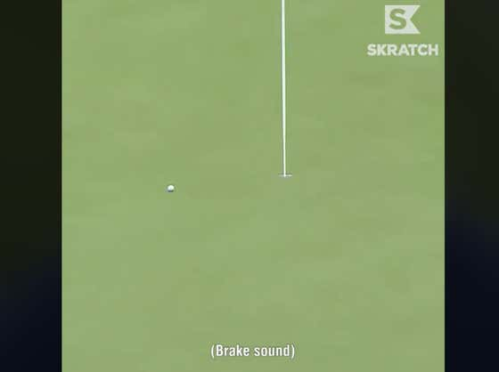 Imagine Knowing So Well What Your Golf Ball Is Gonna Do That You Provide Sound Effects