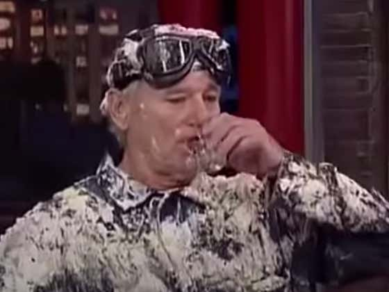 Wake Up With Bill Murray Ripping Shots Of Vodka During His Last Ever Appearance On Letterman