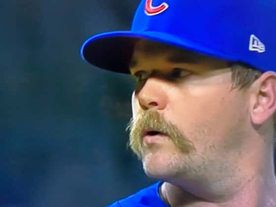 The Guy Who Blew It For The Cubs Tonight Has A Glorious Mustache