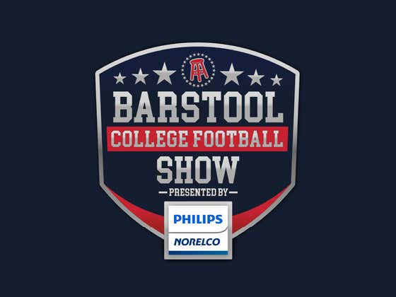 Barstool College Football Show presented by Philips Norelco - Week 4