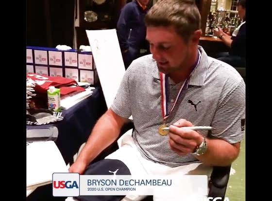Did You Know That Bryson DeChambeau Can Sign His Name Backwards And With His Left Hand?