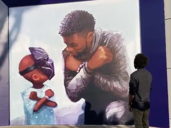 This Chadwick Boseman Mural Unveiled At Disneyland Today Is BEAUTIFUL