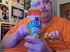Tank's Taste Test C&C Peach Soda