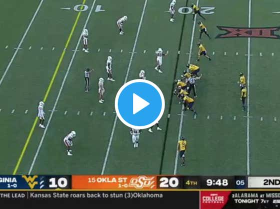 This Is The Most Outrageous Delay Of Game Call Ever