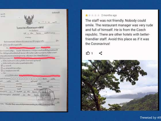 American Traveler May Face 2 Years in Thai Prison For Negative Hotel Review