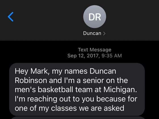 Hilarious Story: Miami Heat Starting Forward Duncan Robinson Asked Mark Titus For Career Advice Three Years Ago Because He Wanted To Work For The Ringer
