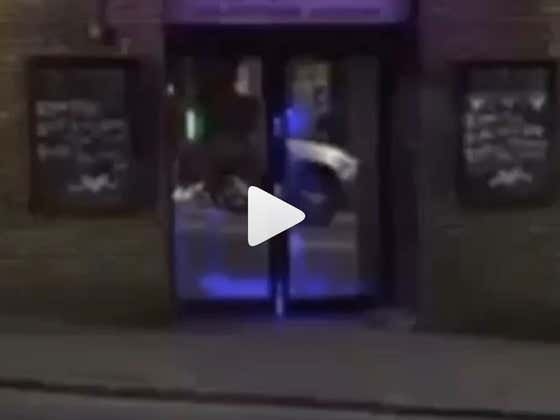 This Dude Getting Launched Out Of A Bar By The Bouncer While His Friends Giggle Is Simple And Perfect Internet