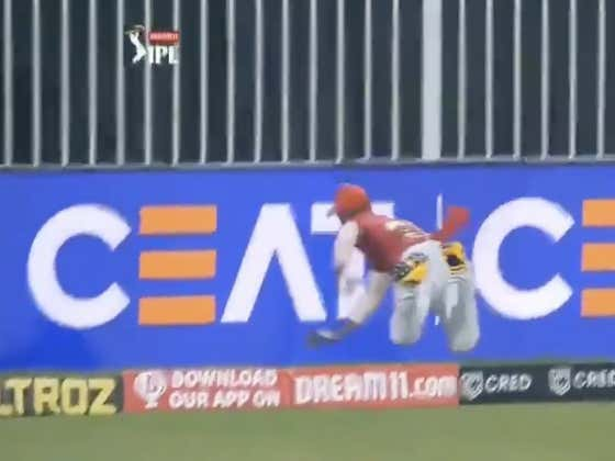 The Greatest Play In Sports This Weekend Was This Absurd Cricket Save