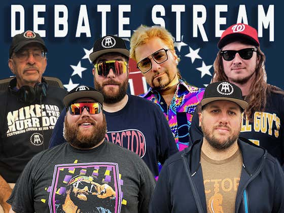 Hard Factor Presidential Debate Watch Party With PFT Commenter And Cousin Mike