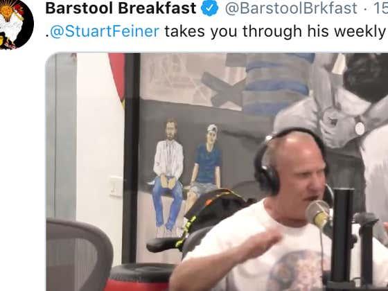 Breakfast Recap: Week 2 of 'Morning Stu' PLUS Hardfactor Pat aka The Beave