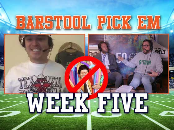 2020 Barstool Pick Em Week 5