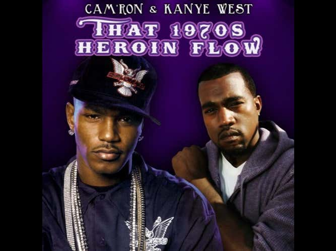Sunday Night Sample - Camron Feat Kanye West - Down And Out