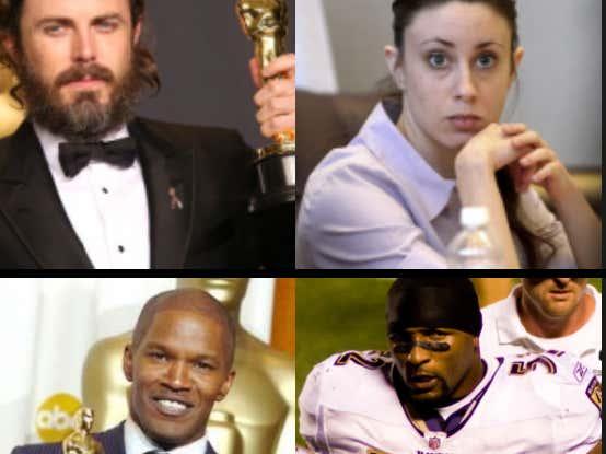 Oscar Winning Actors/Heinous Criminals