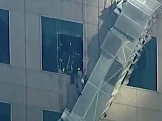 The Background Music On This Rescue Video From New York City Today Is Absolutely Preposterous