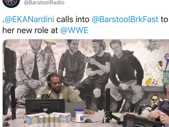 Erika Nardini Calls Into Barstool Breakfast To Explain Her New Role At The WWE