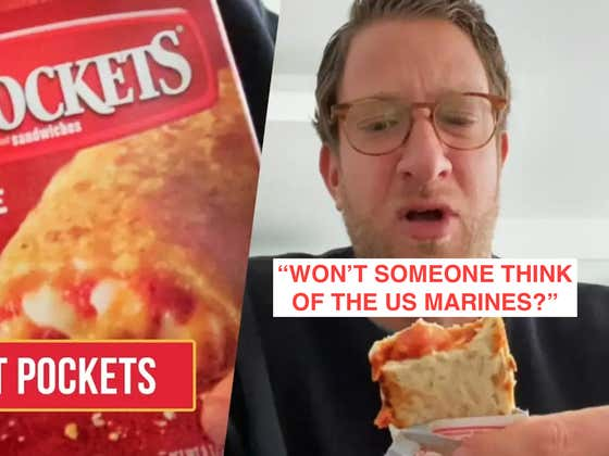 Troops Suffering: COVID Supply-Chain Troubles Lead To Hot Pocket Shortages On Military Bases