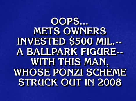 In Addition To Announcing The 3rd Pick Of The NHL Draft, Alex Trebek Also Casually Ethered The Wilpons On Tonight's Jeopardy