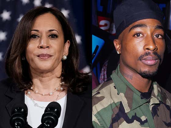 Trump Campaign Left A Ticket For Tupac At Tonight's Vice Presidential Debate Under Senator Kamala Harris' Name