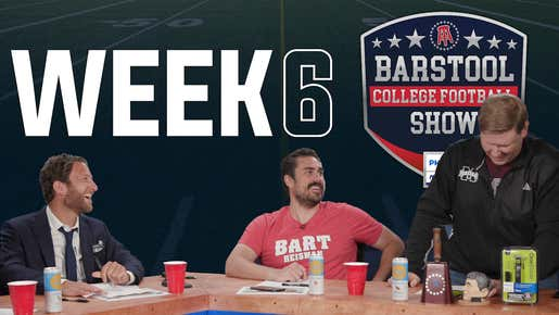Barstool College Football Show presented by Philips Norelco - Week 6