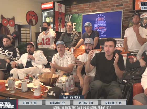 Full Replay: Bears vs. Bucs - Thursday Night Football at the Barstool Sportsbook House