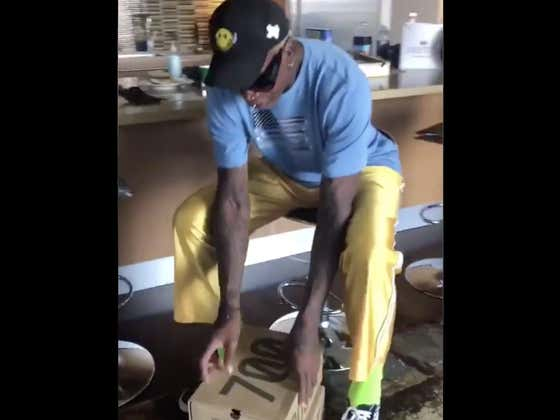 I Promise You Are Not Prepared To See How Dennis Rodman Opens A Box Of Sneakers