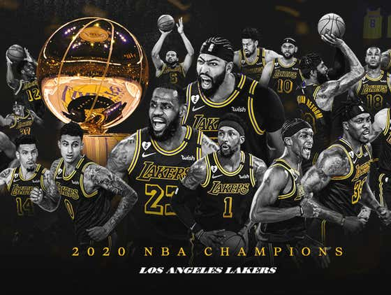 Congratulations To The Los Angeles Lakers, Winning 12 NBA Titles Is Impressive
