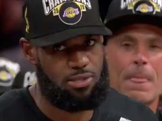 """""""And I Want My Damn Respect Too"""" - Finals MVP LeBron James"""