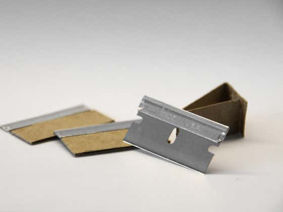 What Are The Worst Places To Find A Razor Blade?