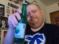 Tank's Taste Test Alien Snot Soda
