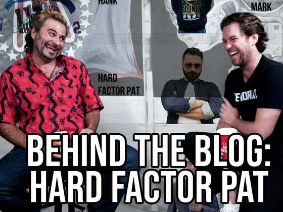 Behind The Blog featuring Hard Factor Pat Cassidy