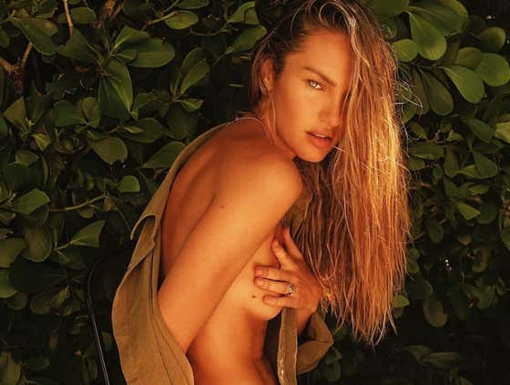 Candice Swanepoel Didn't Hear No Damn Bell!