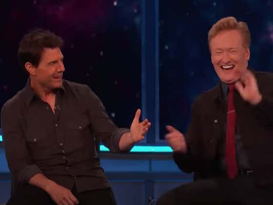 Wake Up With A Bunch Of Guests Making Conan O'Brien Crack Up On His Own Show