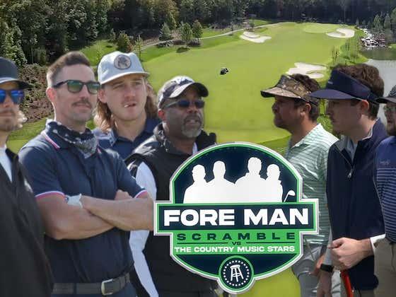 Darius Rucker, Jake Owen, Morgan Wallen, & Hardy Vs. The Fore Man Scramble