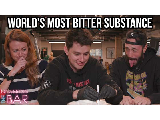 Barstool Chokes Down The World's Most Bitter Substance