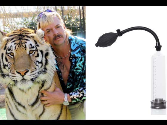 """Joe Exotic: """"Read My Lips. The Penis Pump Is NOT Mine! I Have A High Sex Drive!"""""""