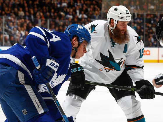 Joe Thornton Has Signed With Toronto And The Leafs Better Not Screw This Up