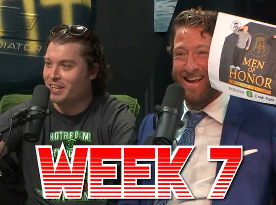 Dave Questions his Alliance to the Ryders - Barstool Pick Em Week 7 Full Video