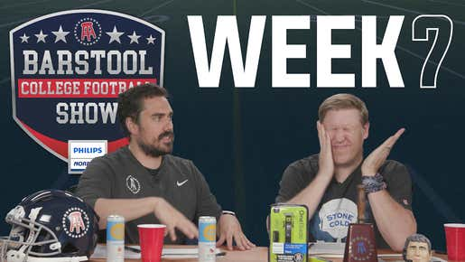 Barstool College Football Show presented by Philips Norelco - Week 7