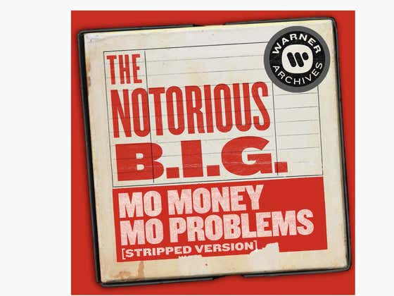 """A Stripped Down Version Of Biggie's """"Mo Money, Mo Problems"""" Dropped Yesterday, And It's Pure Acoustical Bliss For Your Saturday Morning"""
