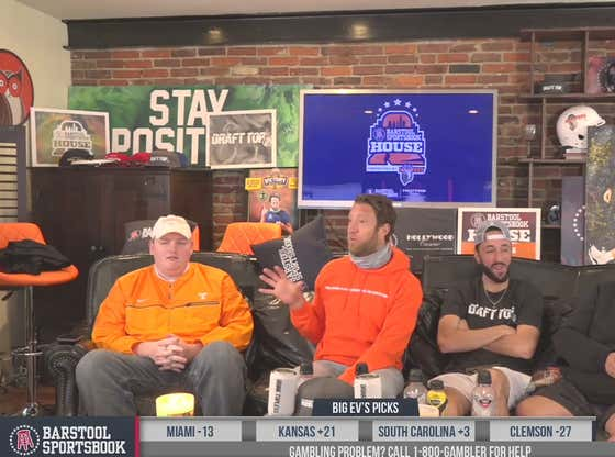 Full Replay: College Football - Week 7 at the Barstool Sportsbook House