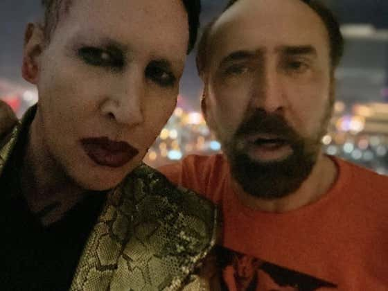 Nic Cage Tells Marilyn Manson The Story Of The Last Time He Gambled: 30 Years Ago, When He Turned 200 Bucks Into $20,000 Playing Roulette In The Bahamas Then Walked To The Closest Orphanage And Gave It To The Kids