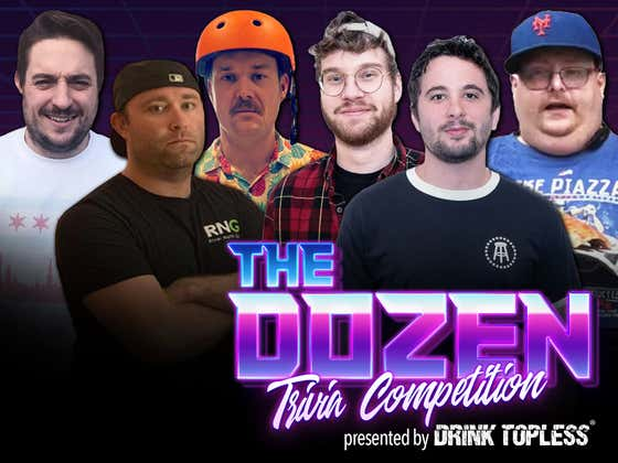 Special Edition Trivia Battle Between Frank & ANUS and Chicago (The Dozen presented by Draft Top: Episode 052)