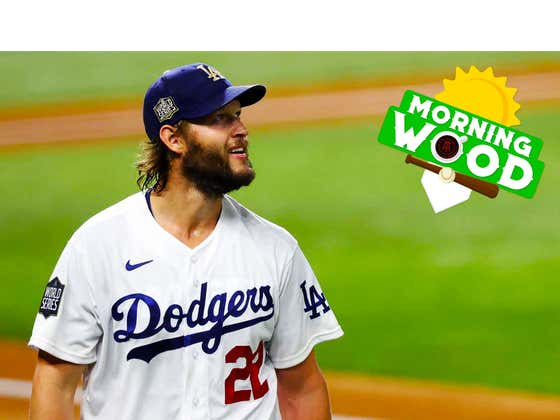Morning Wood 10/21: Dodgers Take Game 1, Kershaw Shoves, And Mookie Betts Continues To Ruin Red Sox Fans' Lives