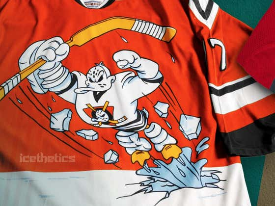 The Infamous Wild Wing Jersey Is Reportedly Coming BACK For The Anaheim Ducks